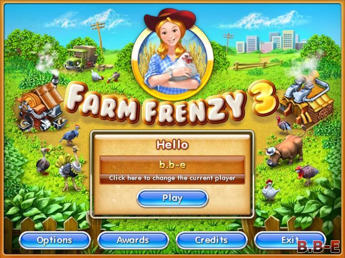 Farm Frenzy 3 Тоглоом