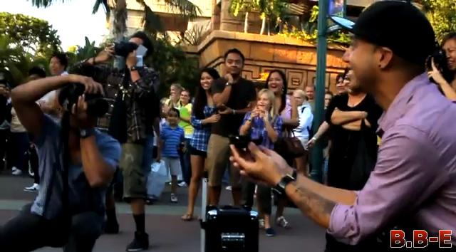 Jamin's Downtown Disney Flashmob Proposal